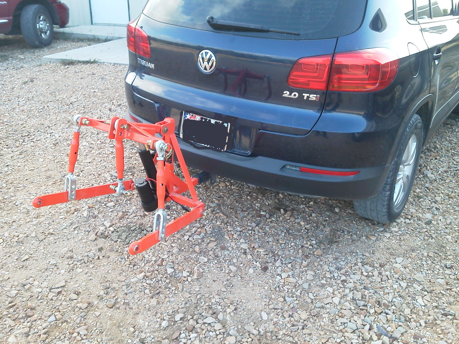 Vehicle Three point hitch Applications and Photos