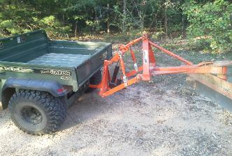 T-Point lift vehicle 3 point hitch